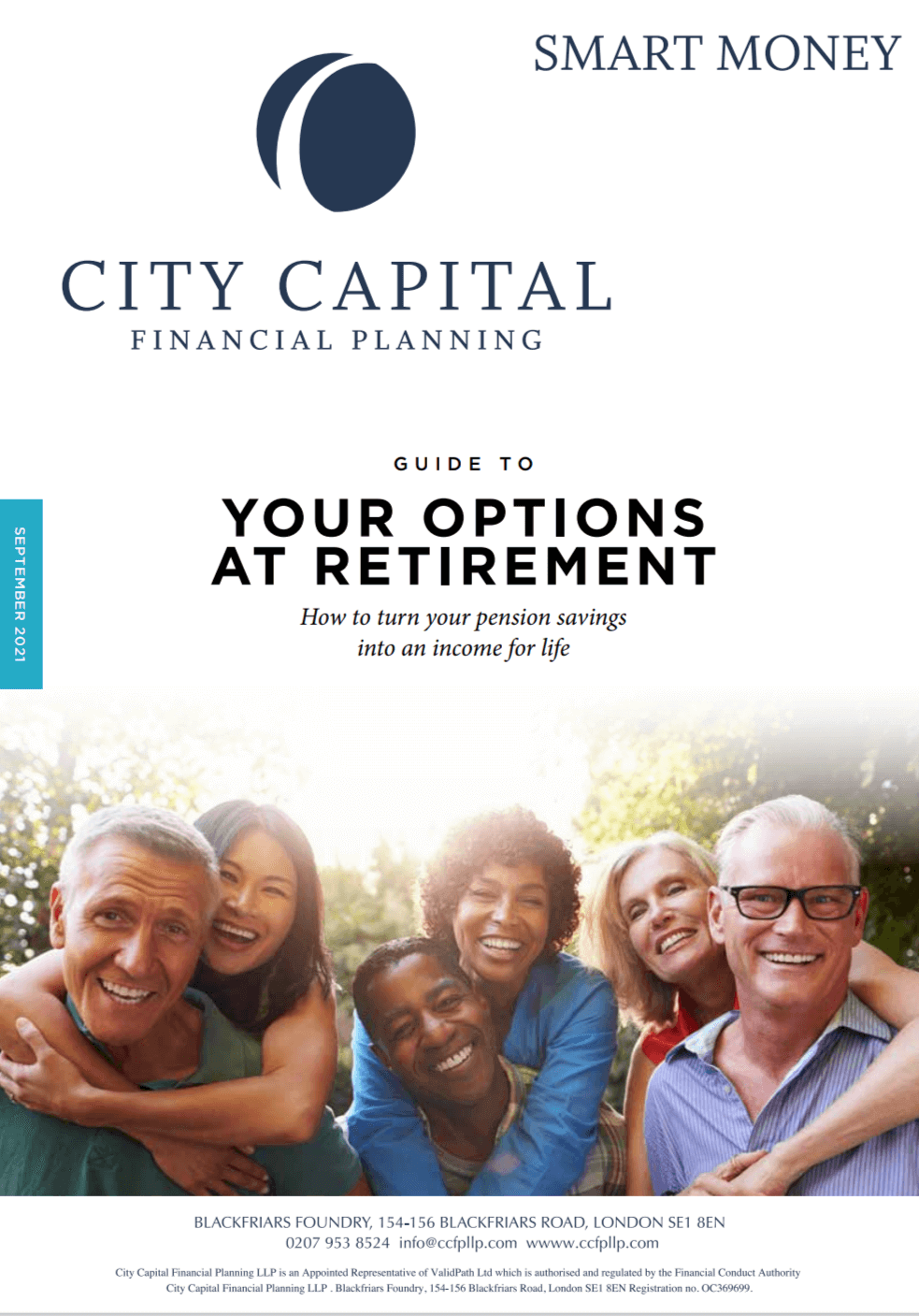 Guide to Your Options at Retirement - How to turn your pension savings into an income for life